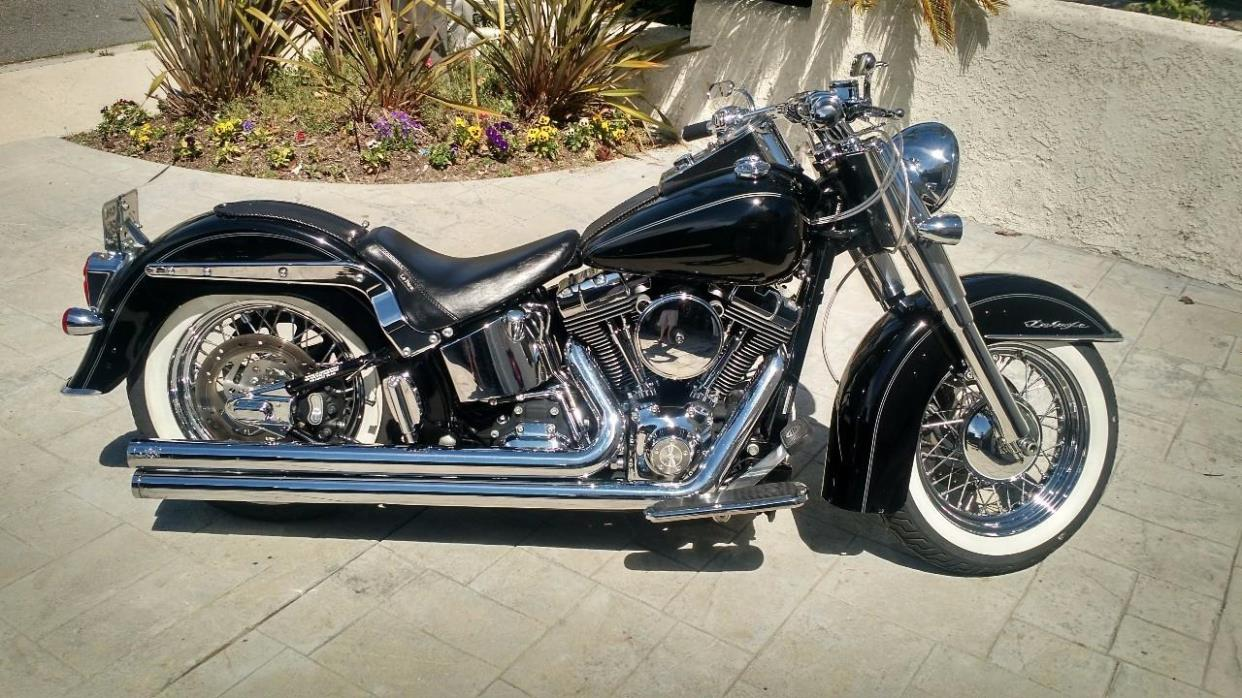 harley davidson softail deluxe motorcycles for sale. Black Bedroom Furniture Sets. Home Design Ideas