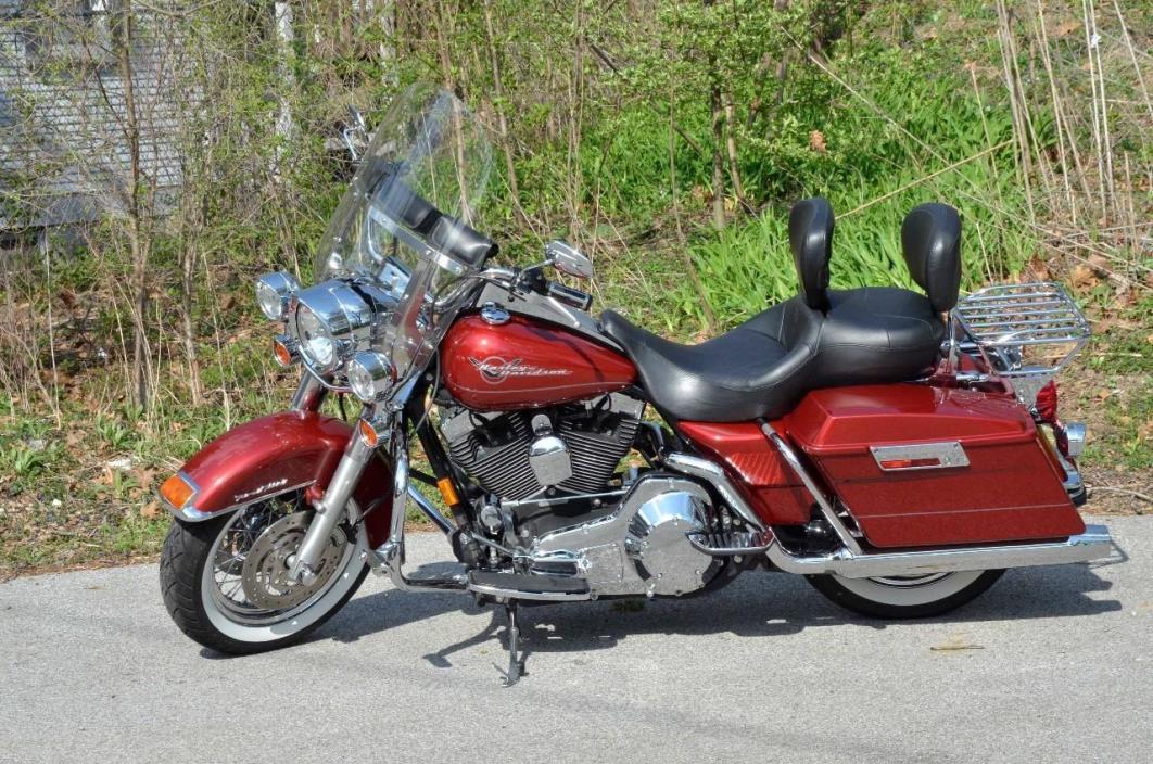 harley davidson road king motorcycles for sale in indiana. Black Bedroom Furniture Sets. Home Design Ideas