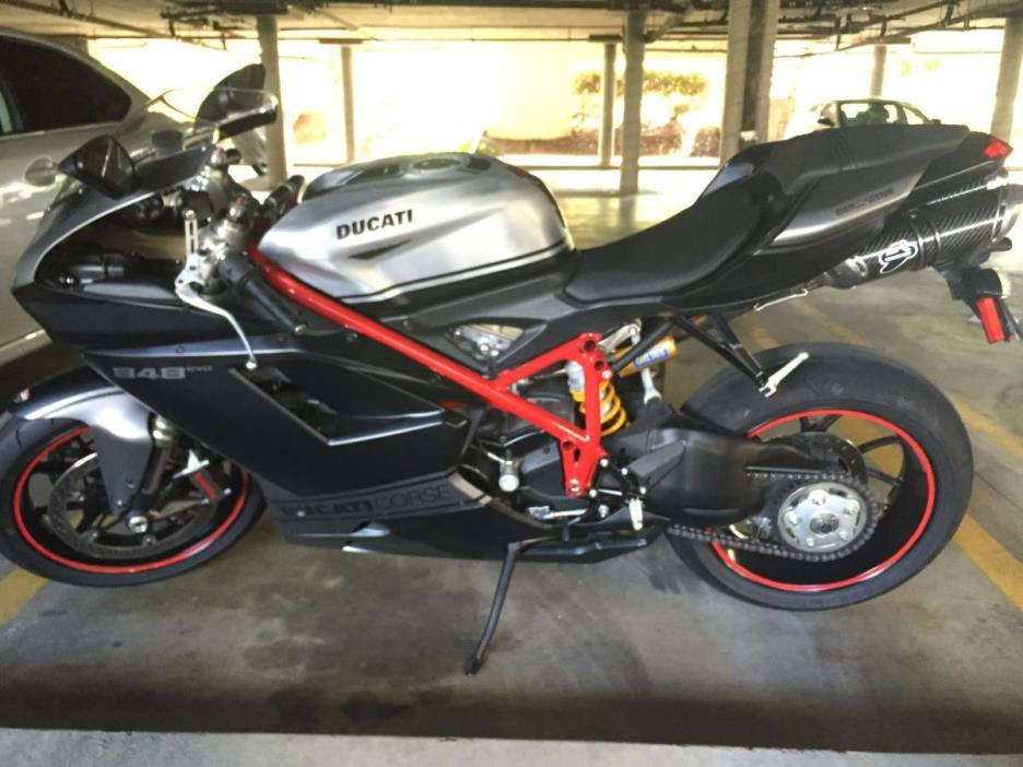 2013 Ducati SUPERBIKE 848 EVO CORSE SE