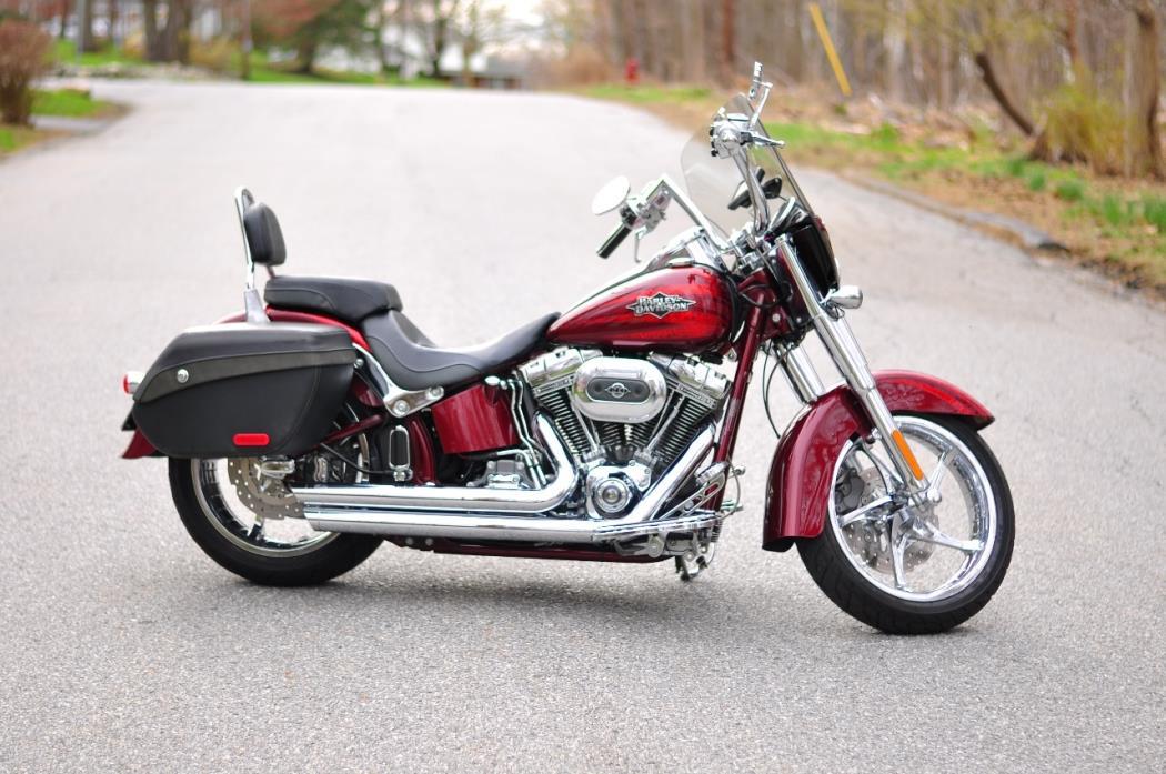 harley davidson softail cvo convertible motorcycles for sale. Black Bedroom Furniture Sets. Home Design Ideas
