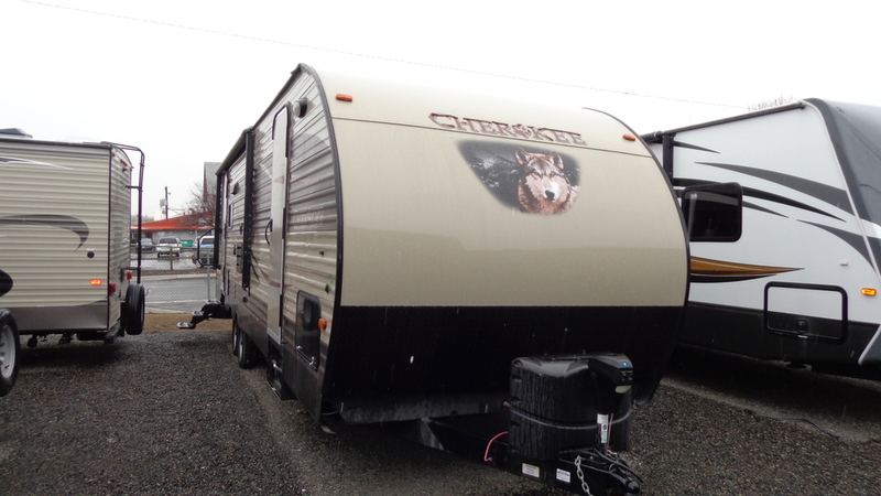 2016 Forest River Cherokee Grey Wolf 26DBH