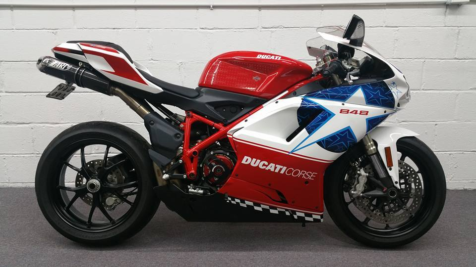 2010 Ducati SUPERBIKE 848