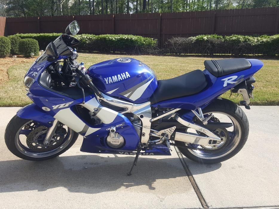 2002 Yamaha YZF R6