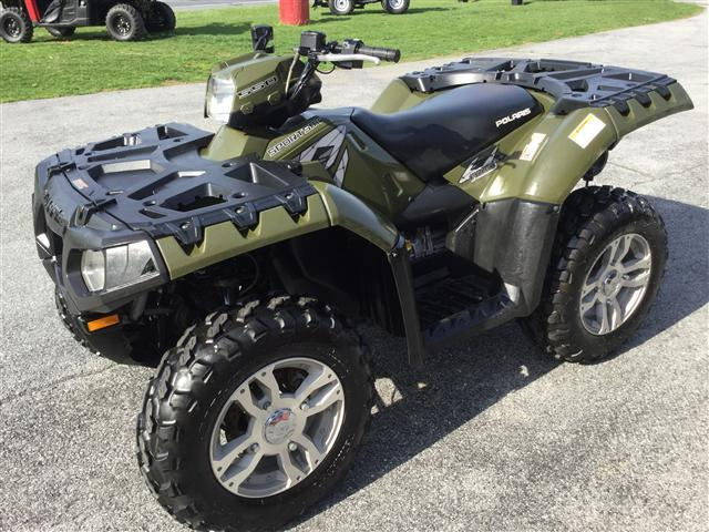 2010 Polaris Sportsman 550XP 4x4