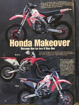 2005 Honda CRF 450X
