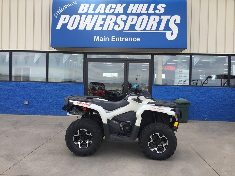 2015 Can-Am Outlander XT 1000 Pearl White