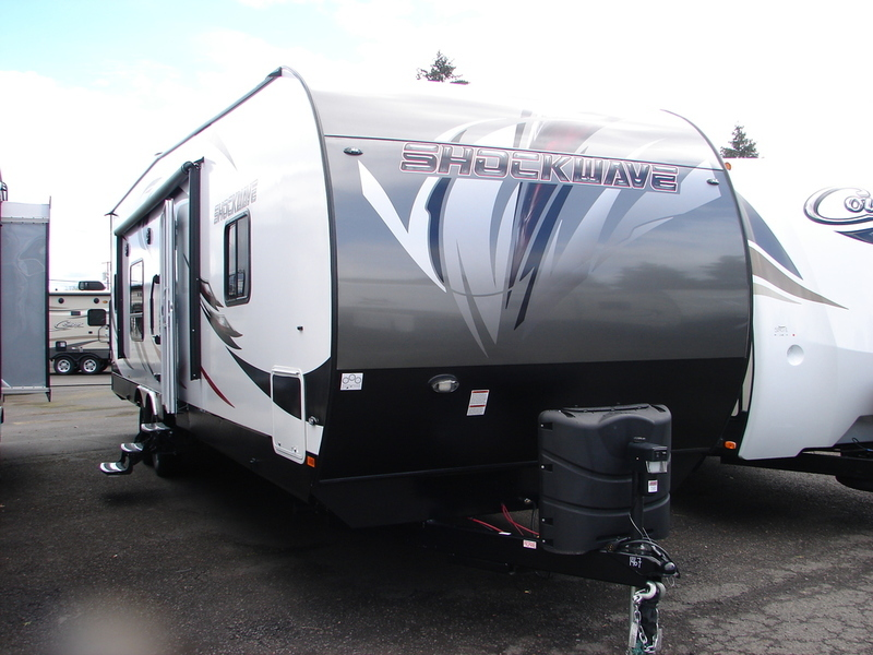 2017 Forest River Shockwave T28KS DX