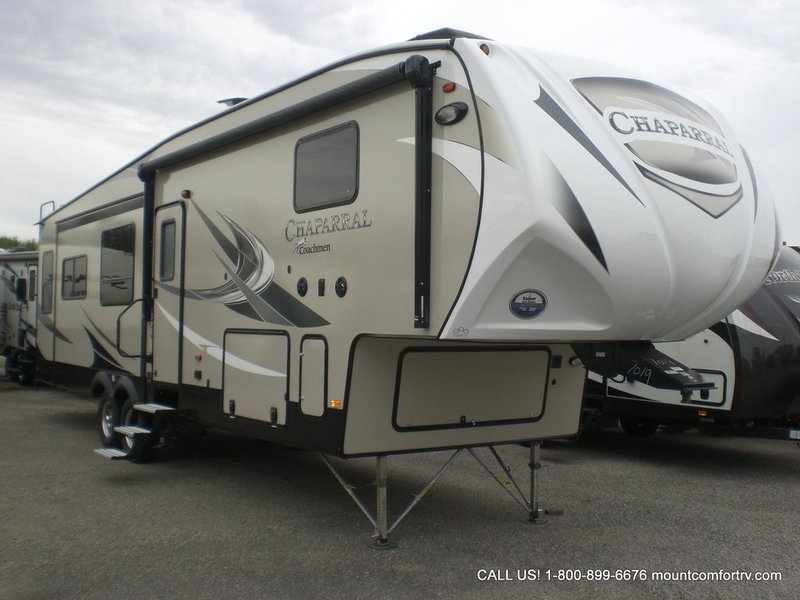 2018 Coachmen Chaparral 336TSIK, 0