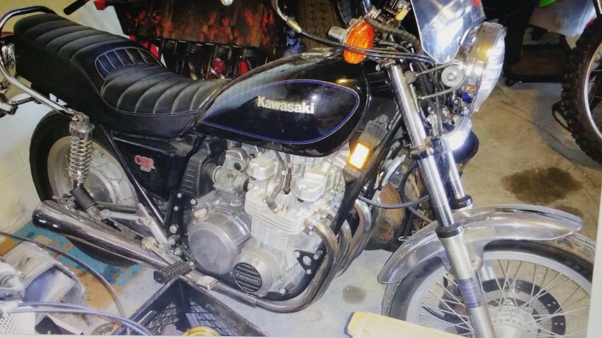 1981 Kawasaki CSR 650