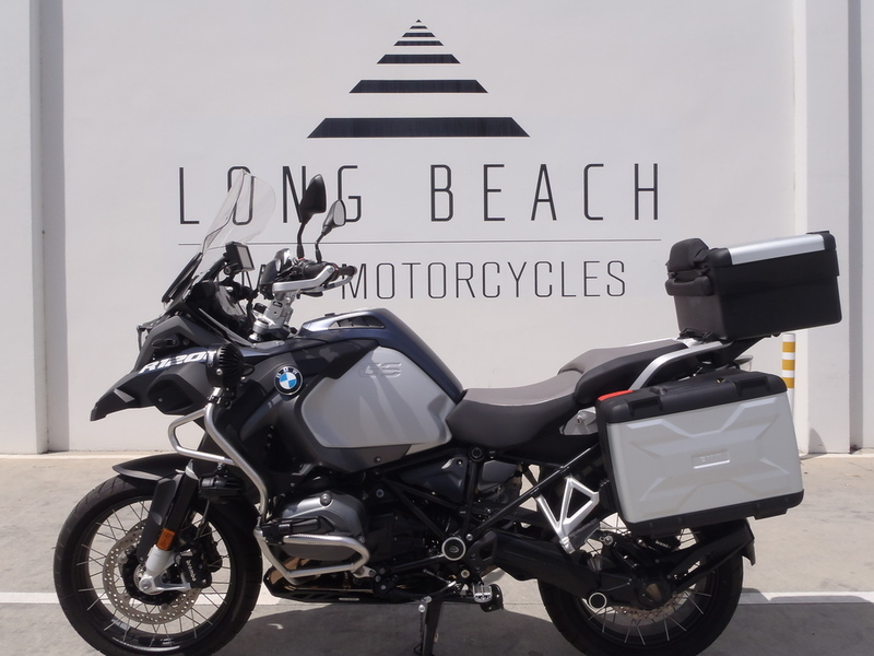 2016 BMW R 1200 GS Adventure Premium Ocean Blue Metallic