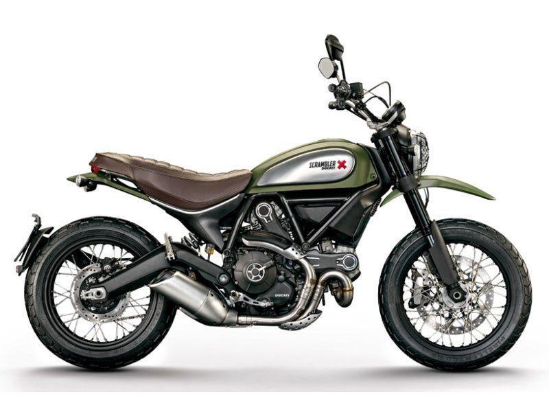 2016 Ducati Scrambler Urban Enduro