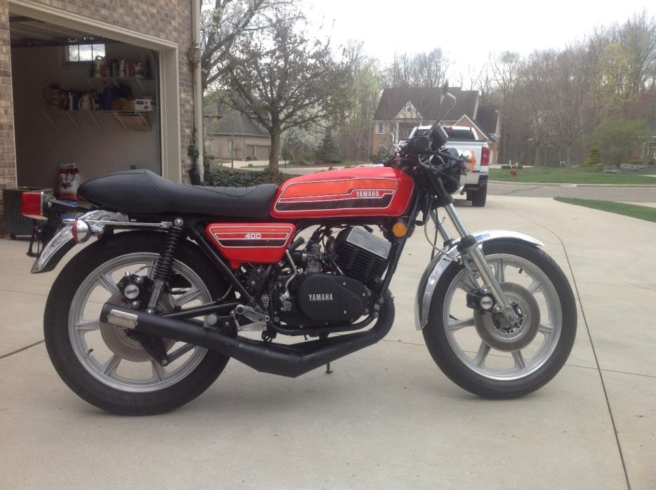 Yamaha Rd400 motorcycles for sale