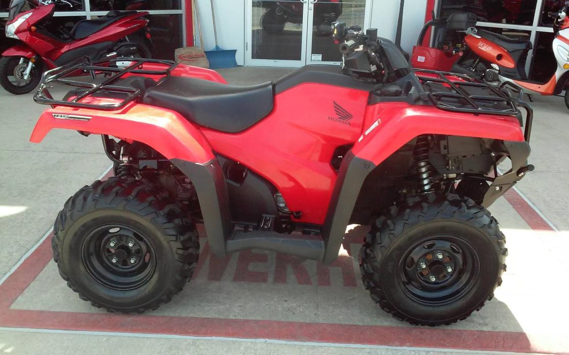 2015 Honda FourTrax Rancher 4x4 DCT IRS EPS