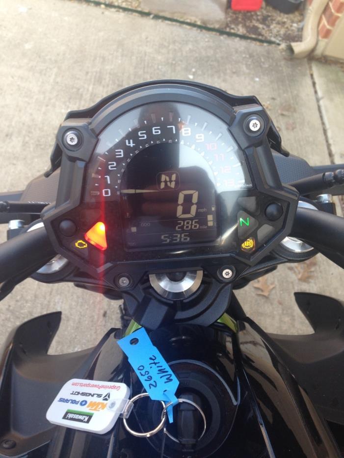 2017 Kawasaki Z 650 ABS