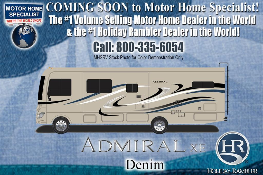 2018 Holiday Rambler Admiral XE 31E Bunk Model RV for Sale W/ 2 A/C, 5.5KW G
