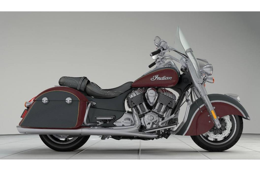 2017 Indian Springfield - Two-Tone Option