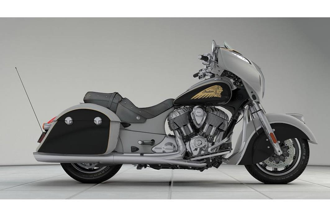 2017 Indian Chieftain - Two-Tone Option
