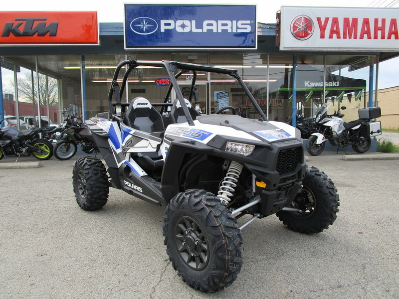 2017 Polaris RZR XP 1000 EPS White Lightning With Reflex Blue