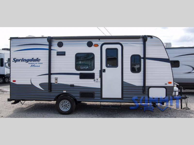 2016 Keystone Rv Summerland Mini 1800BH