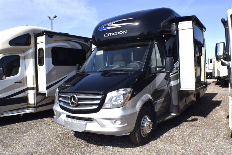 Thor motor coach rvs for sale in oklahoma for Thor motor coach citation sprinter