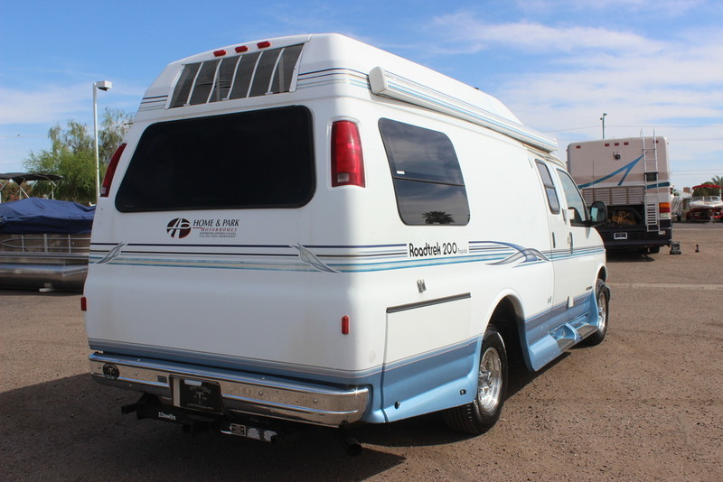 2001 Roadtrek Popular 200 Class B RV, 5