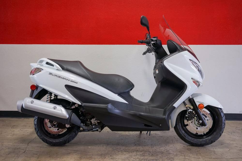 2016 Suzuki Burgman 200 ABS