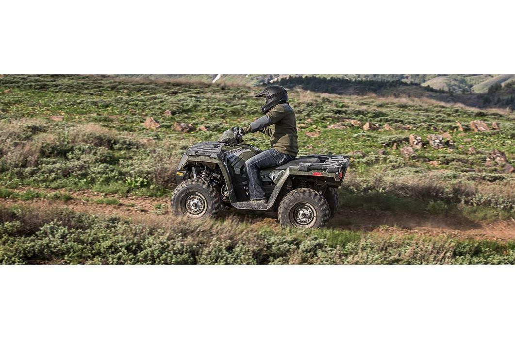 2017 Polaris Sportsman 450 H.O. EPS Sage Green