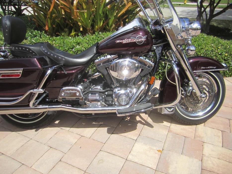harley davidson road king classic motorcycles for sale in florida. Black Bedroom Furniture Sets. Home Design Ideas