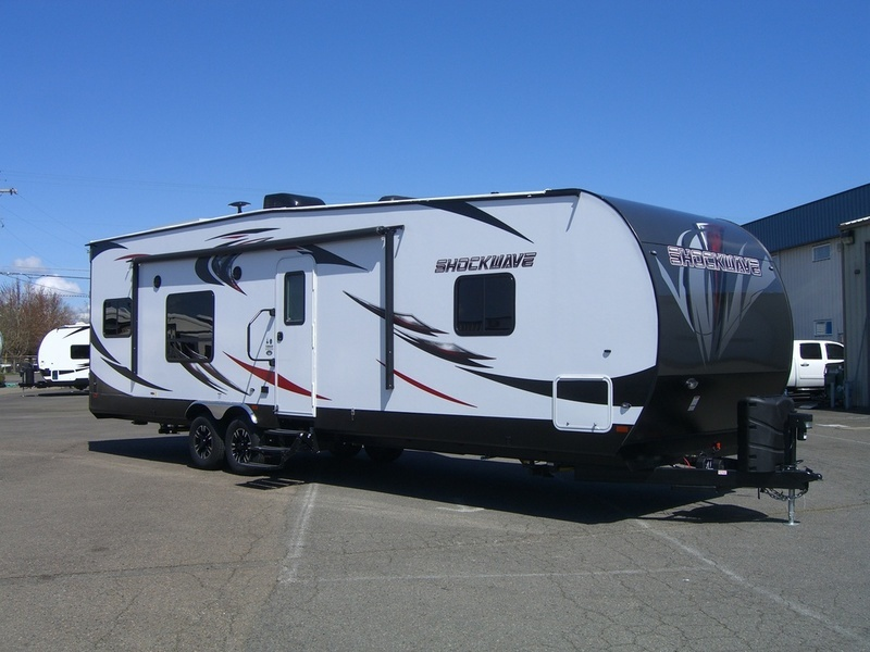 2018 Forest River Shockwave T28KS DX