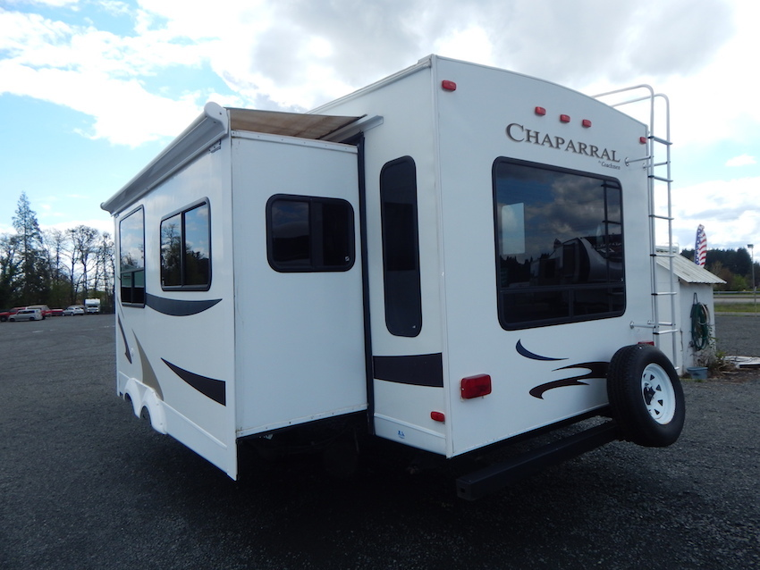 2007 Coachmen CHAPARRAL 267RLS, 1