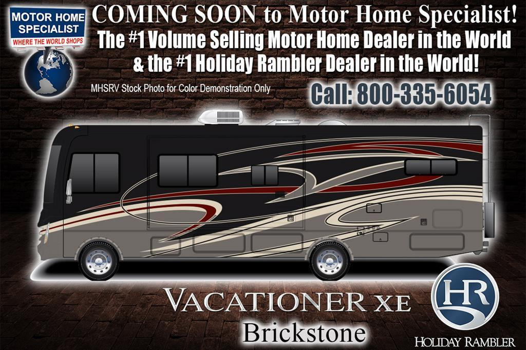 2018 Holiday Rambler Vacationer XE 36F Bunk Model, 2 Full Baths W/ Sat, W/D,