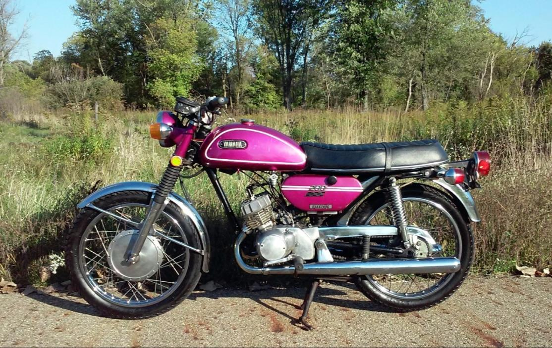 1971 Yamaha CS3 200 CC ELECTRIC