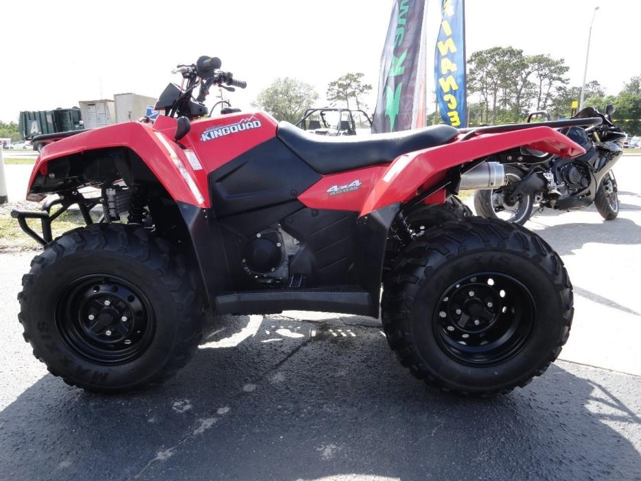 2015 Suzuki king quad 400
