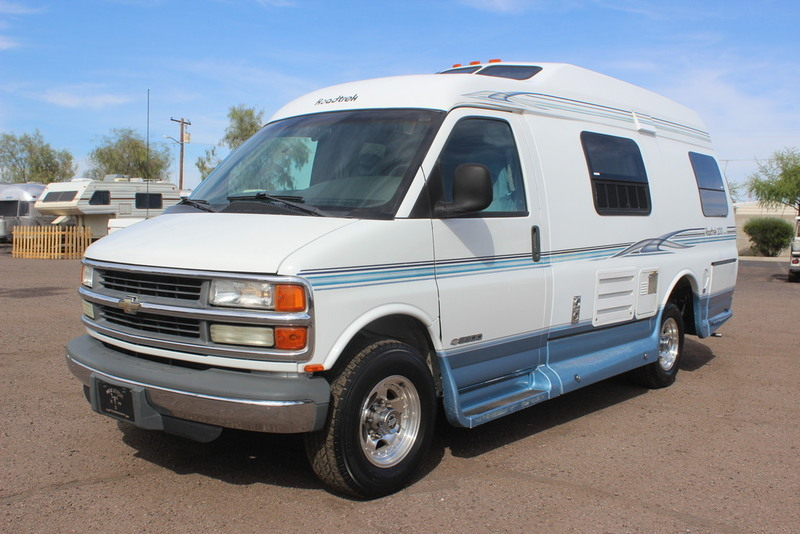 2001 Roadtrek Popular 200 Class B RV, 1