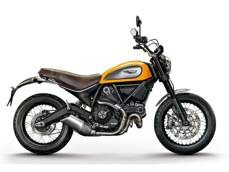 2016 Ducati Scrambler Classic