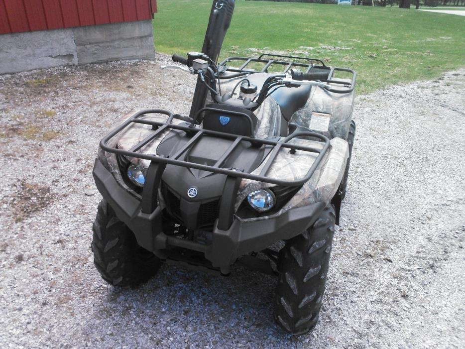 2014 Yamaha GRIZZLY 450 AUTO 4X4 EPS