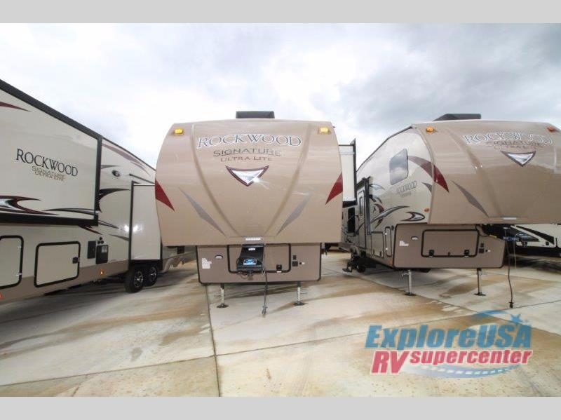 2018 Forest River Rv Rockwood Signature Ultra Lite 8298WS
