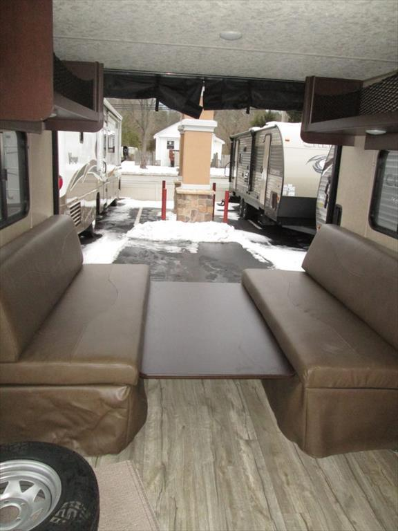 2017 Forest River Grey Wolf 27RR Slide-out Enclosed Rear Garage w/Ramp Do, 5
