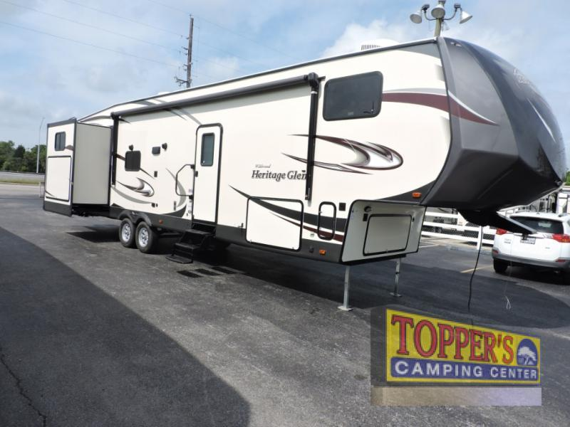 2018 Forest River Rv Wildwood Heritage Glen 356QB