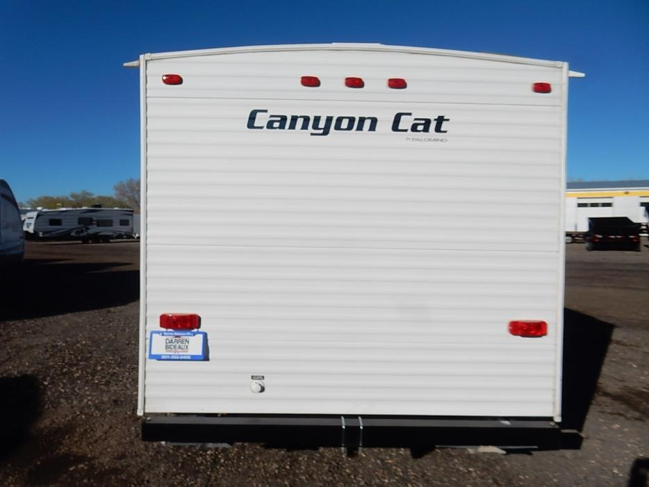 2015 Palomino Canyon Cat 17 QB, 3