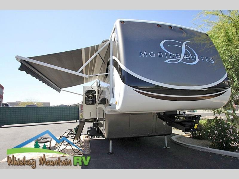 2012 DRV Mobile Suites Atlanta 45' Quad Slide 2 Bedroom
