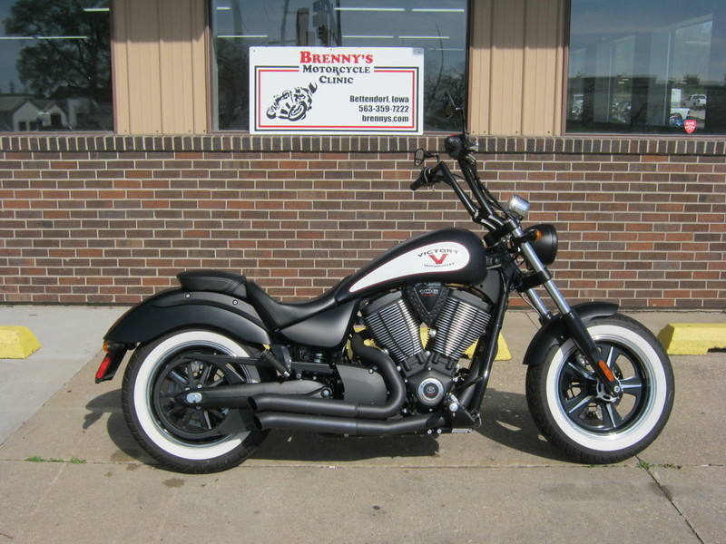 2014 Victory Motorcycles High-Ball Suede Black with Graphics