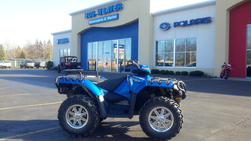 2013 Polaris Sportsman XP 850 H.O. EPS Blue Fire