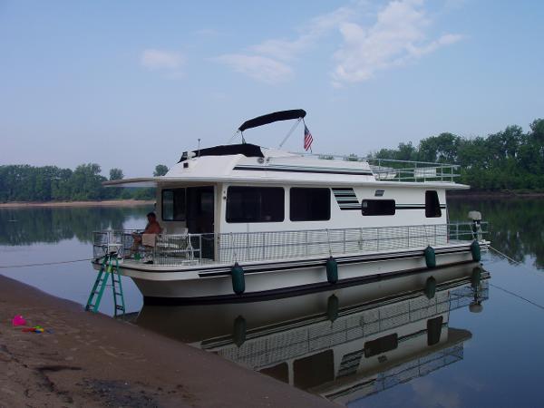 1999 Gibson Executive Houseboat
