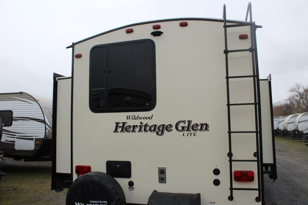2017 Forest River HERITAGE GLEN 300BH, 4