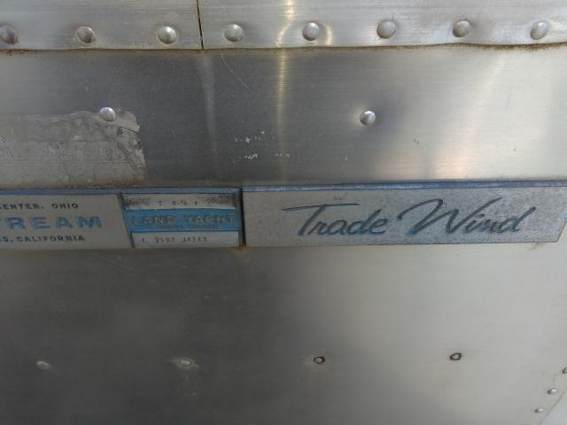 1972 Airstream AIRSTREAM TRADEWINDS, 2