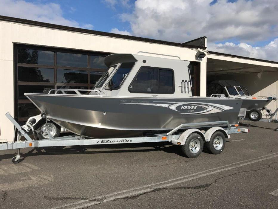 2017 Hewescraft 19 Sea Runner HT