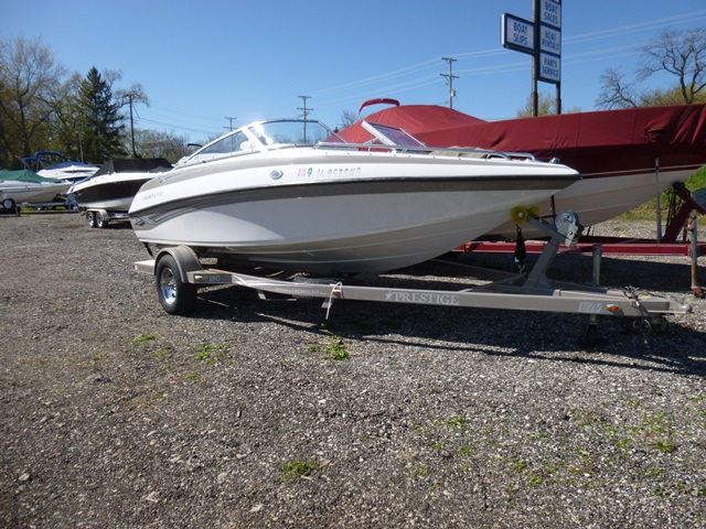 GREAT QUALITY BOAT COVER Crownline 18 SS BR 2011  2012 TRAILERABLE