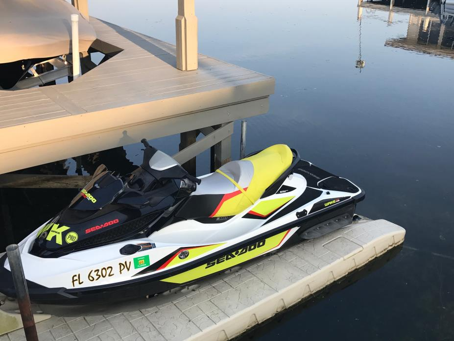 2015 Sea Doo WAKE 215HP