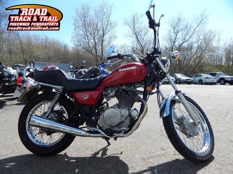1981 Kawasaki CSR 250